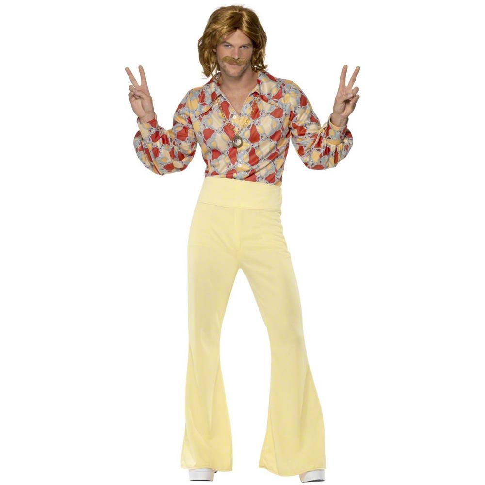 migliore qualità seleziona per ufficiale Los Angeles JADEO - Costume Uomo Disco Anni '70 Medium - ePRICE