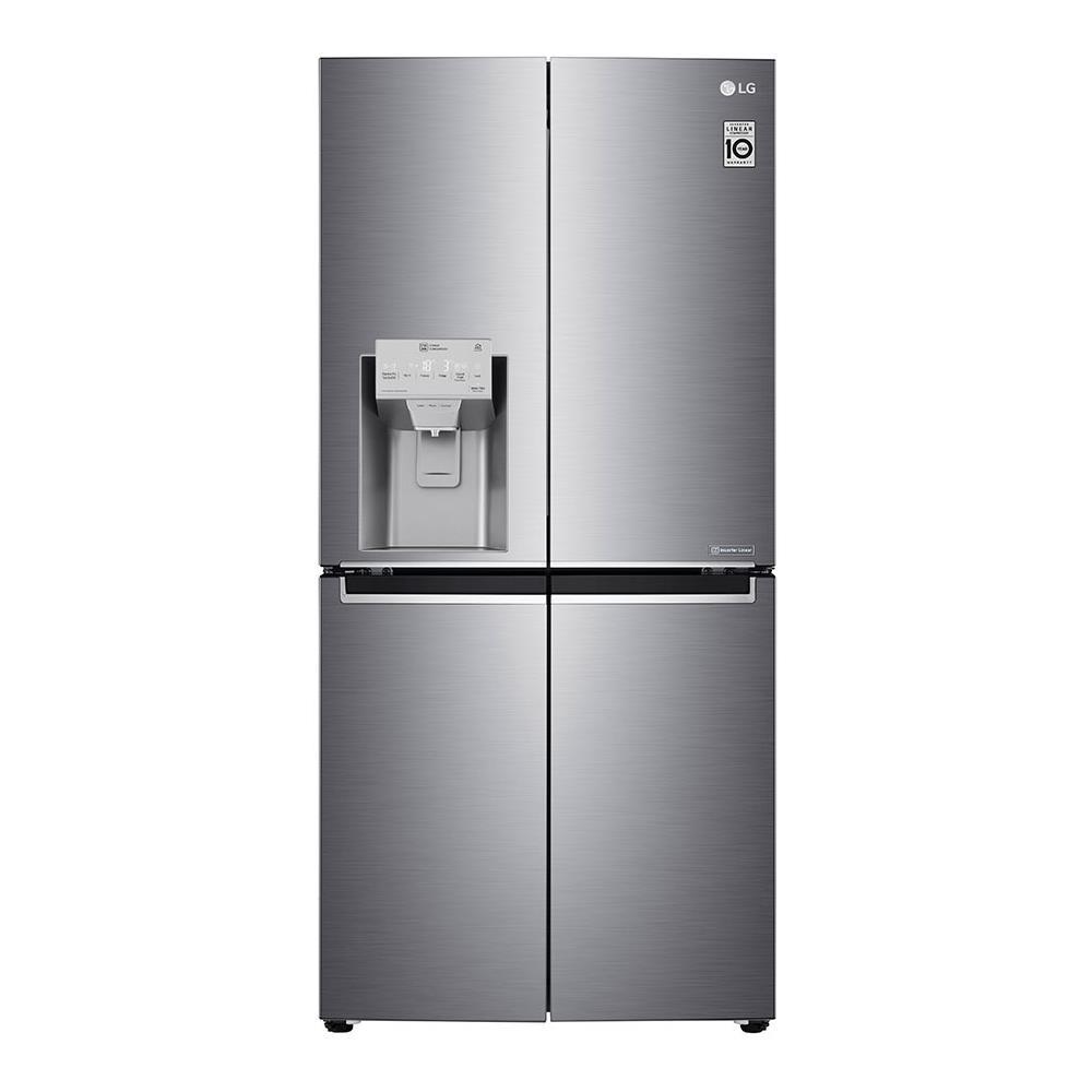 LG Frigorifero 4 Porte GML844PZKZ Total No Frost Classe A++ Capacità Lorda 570 Litri Colore Inox
