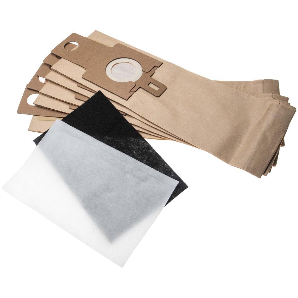 10 Sacchetto per aspirapolvere adatto per HOOVER U 3341