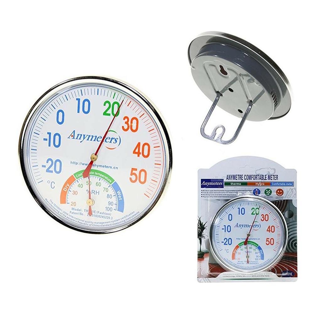 1e4be1dc5640c4 Gloriashoponline Termometro Igrometro Analogico Interno Esterno Misura  Temperatura Umidita' Casa. Venduto e spedito da Gloriashoponline