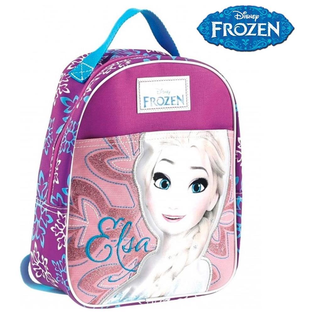 b056a4b359 TrAdE shop Traesio® Zainetto Frozen Elsa Disney Asilo Scuola Bambine Tempo  Libero Colore Rosa