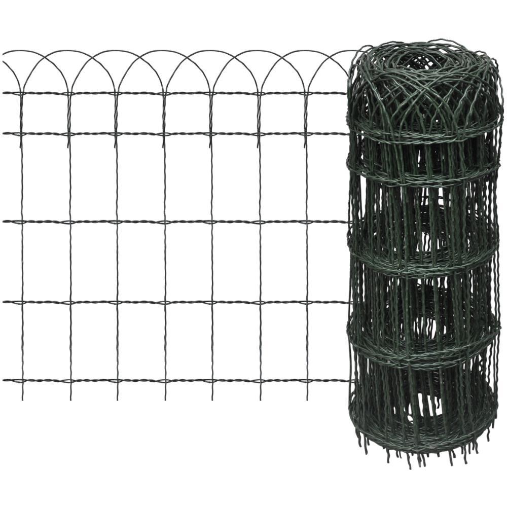 Recinzione Giardino In Ferro.Vidaxl Recinzione Per Giardino In Ferro Verniciato A Polvere