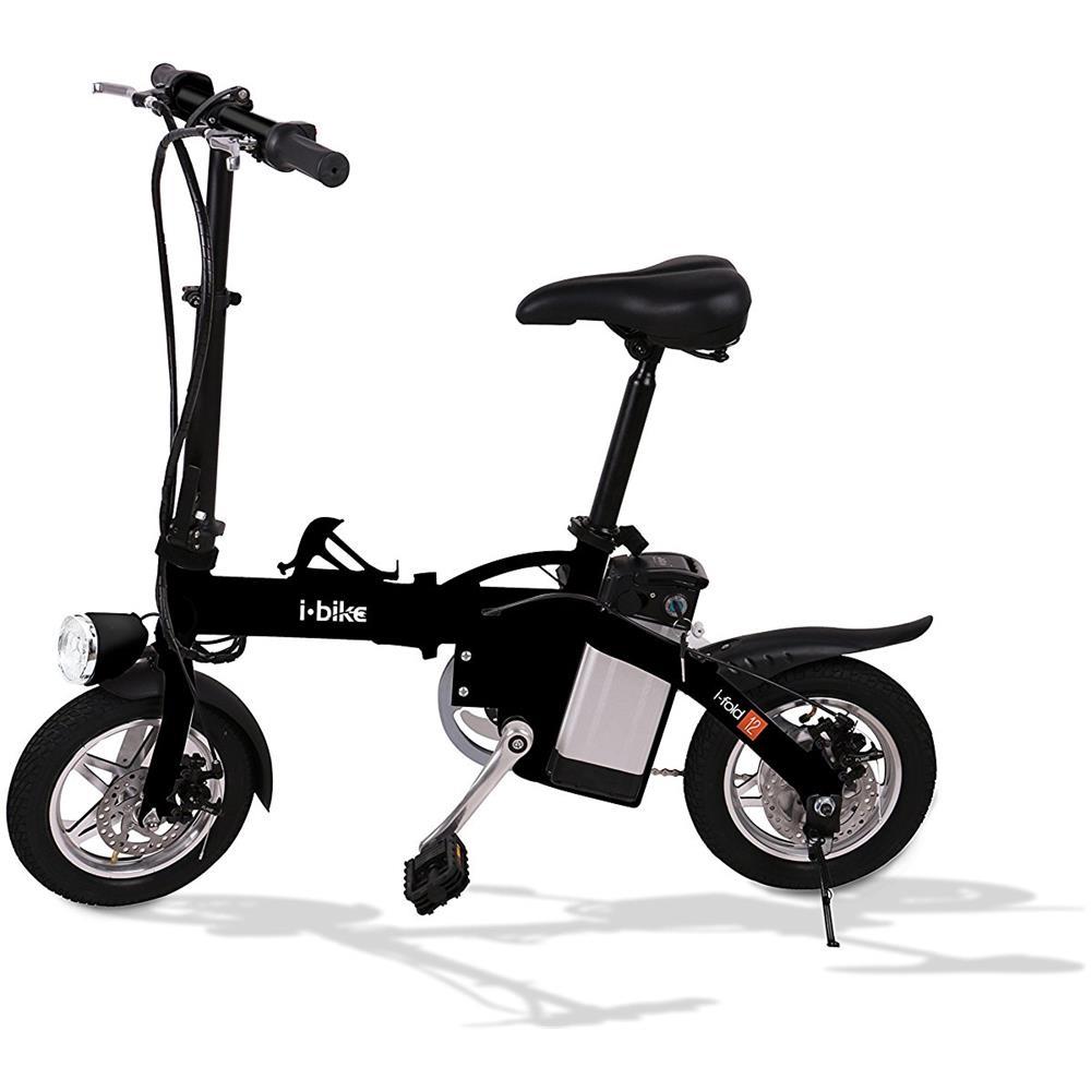 Bicicletta Pieghevole Mobiky Prezzo.I Bike Bicicletta Elettrica Pieghevole Ruote 12 Colore Nero Eprice