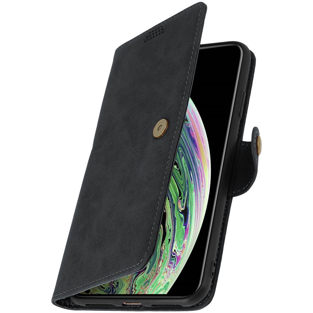 Avizar - Custodia Iphone Xs Max Portafoglio Sportellino Funzione