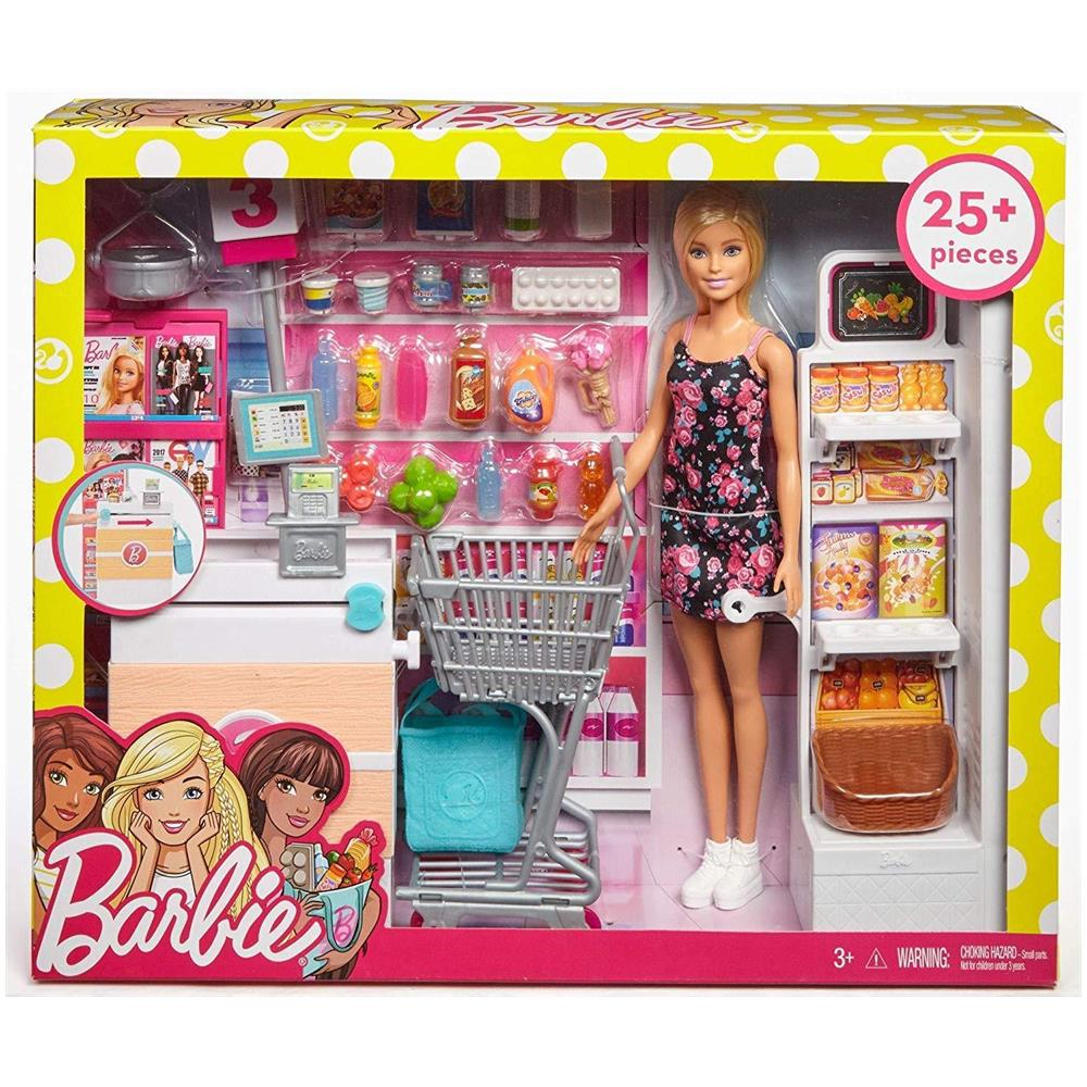 Mattel Frp01 Barbie Il Supermercato Di Barbie Eprice