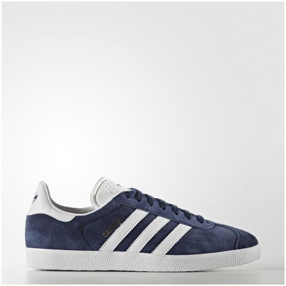 adidas Scarpe Gazelle 42,6 Blu Bianco