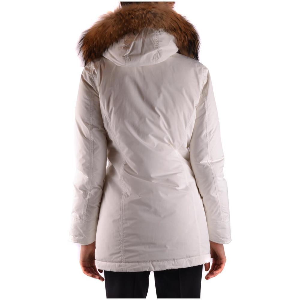 Poliammide Taglia Wwcps2604cf408270 Donna WOOLRICH Cappotto Bianco qXwt44P7R a46e56487670