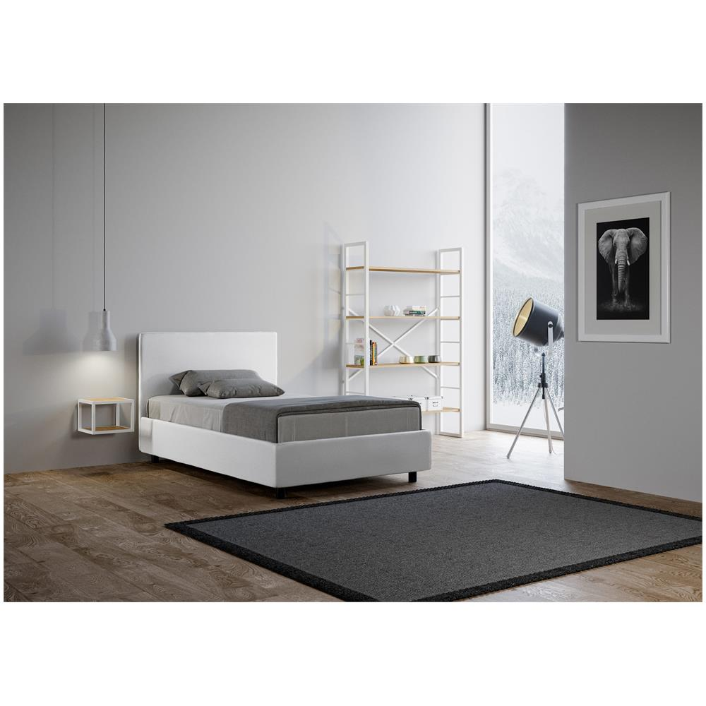 Itamoby - Letto 1 Piazza E Mezza Made In Italy Adele In Similpelle ...