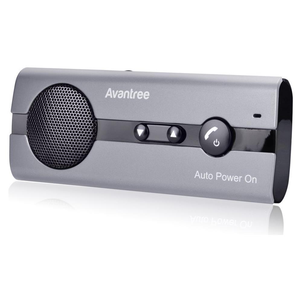 Kit Vivavoce Bluetooth Accensione Automatica Tramite Sensore di Prossimit/à V4.1 da Auto con Controllo Vocale connettere due dispositivi di smartphone contemporaneamente
