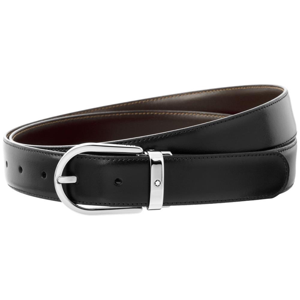 scarpe sportive consegna gratuita varietà larghe Montblanc - Cintura Uomo In Pelle Montblanc Cinghia Regolabile In ...