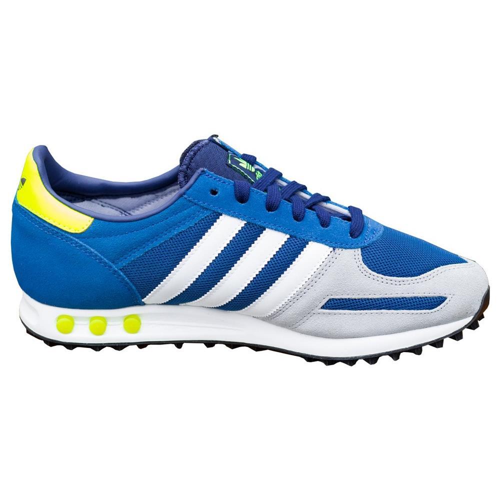 Scarpe Adidas LA Trainer Blu Avio Suede