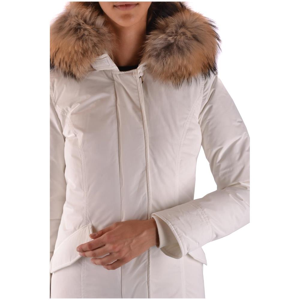 WOOLRICH Bianco Poliammide Cappotto Wwcps2604cf408270 Taglia Donna HwYaHvqxr 508c8fd2097d