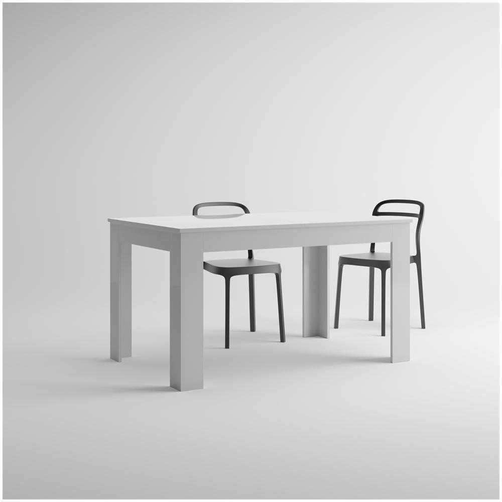 Tavolo cucina bianco allungabile | Decoupageitalia