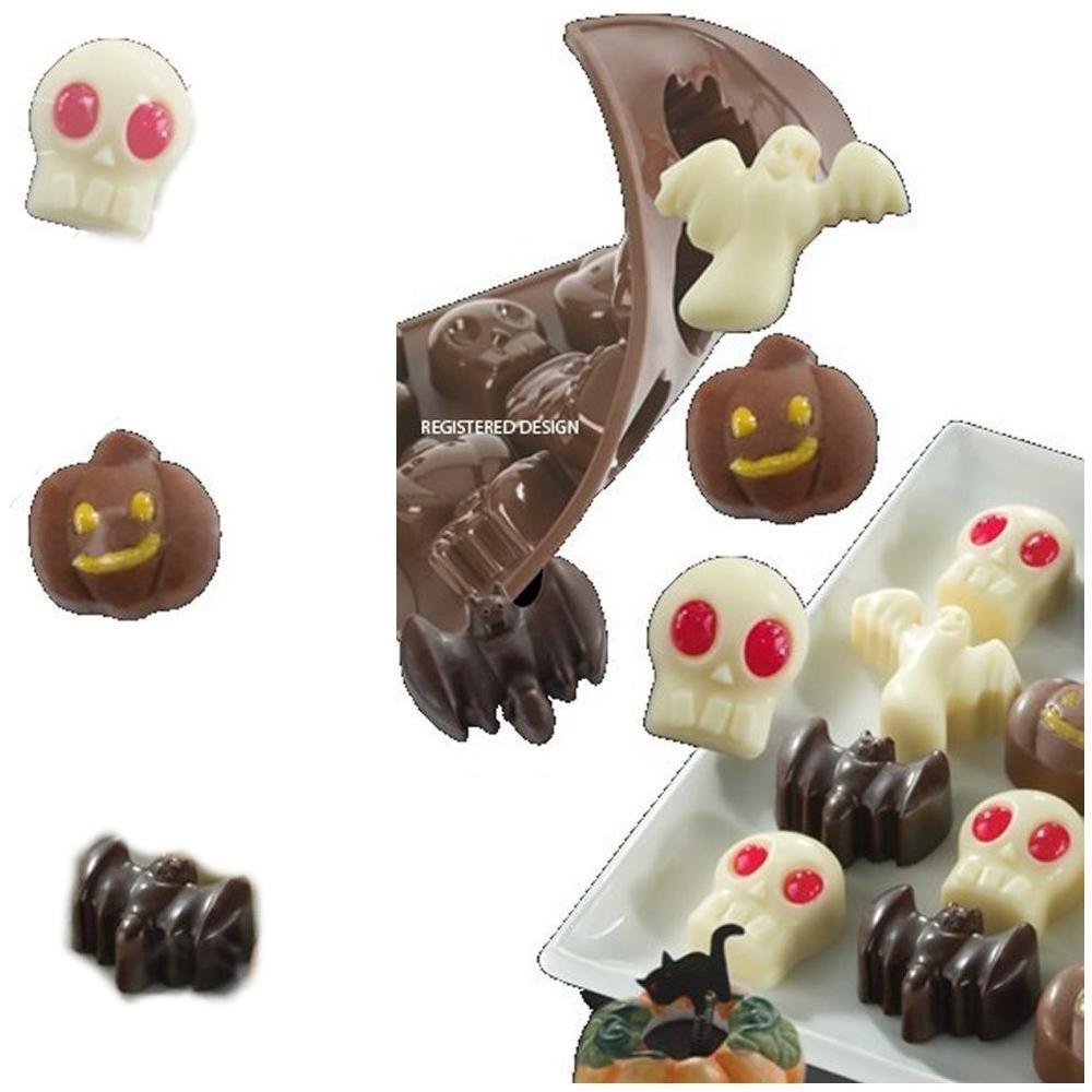 Pavoni idea - Stampo Silicone Per Cioccolatini Di Halloween Pavoni ... aba8c84ccac7