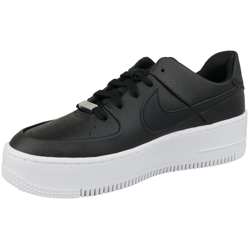 NIKE Air Force 1 Sage Low Ar5339 002, Donna, Nero, Sneakers, Numero: 40,5 Eu