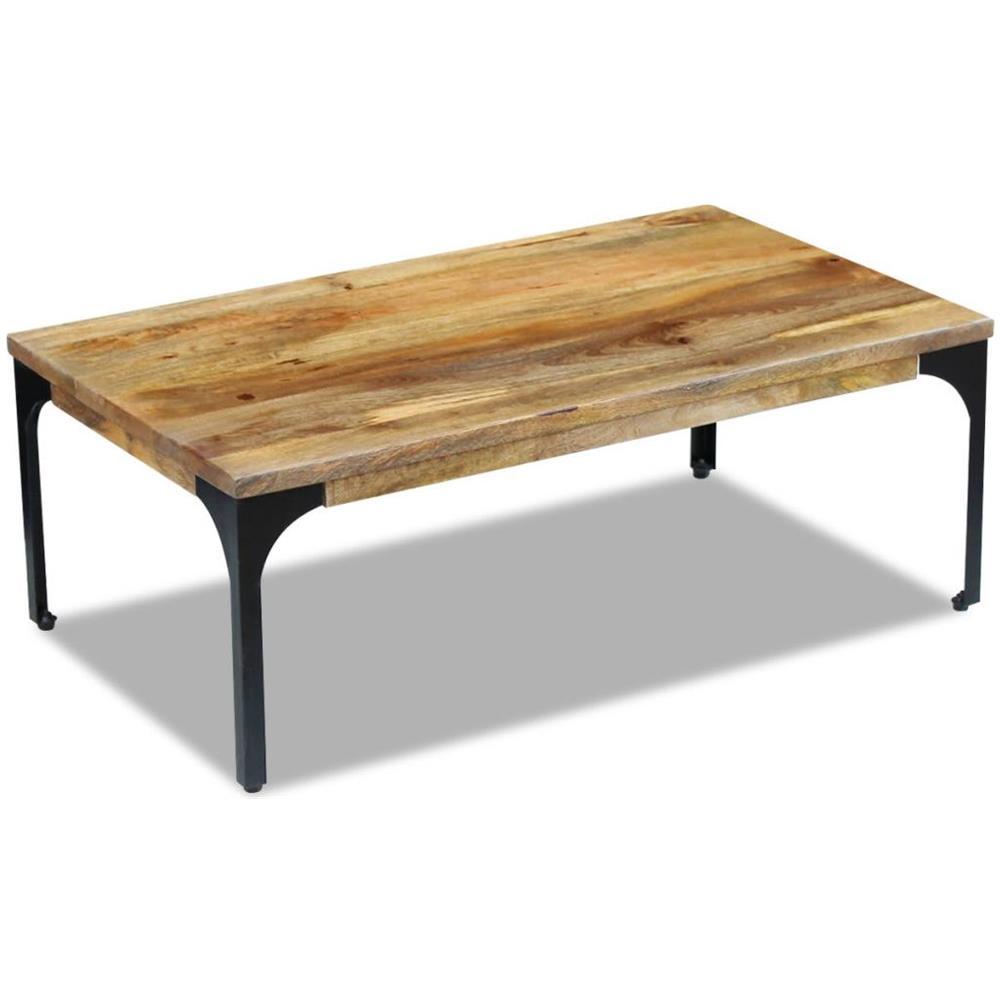 vidaXL Cassa Tavolino da caff/è Contenitore 80x40x35 cm in Legno di Recupero