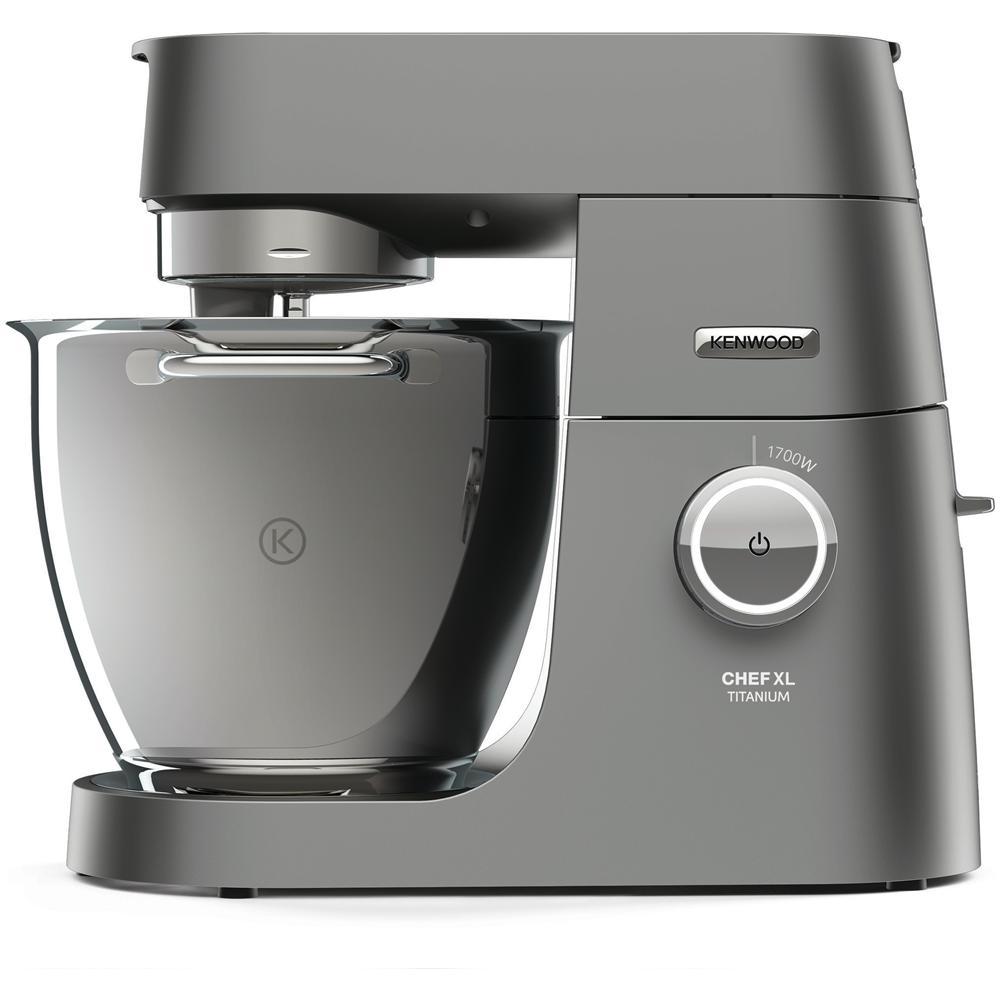 KENWOOD Titanium Chef XL System Pro Robot da Cucina Potenza 1700 Watt  Capacità 5 Kg Colore Silver