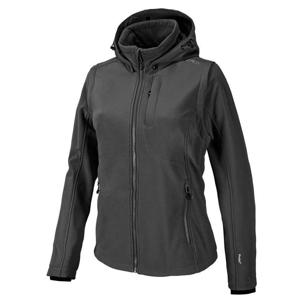 3b4ab84d49a4 Cmp Giacche Cmp Jacket Snaps Hood With Detechable Sleeves Abbigliamento  Donna D36