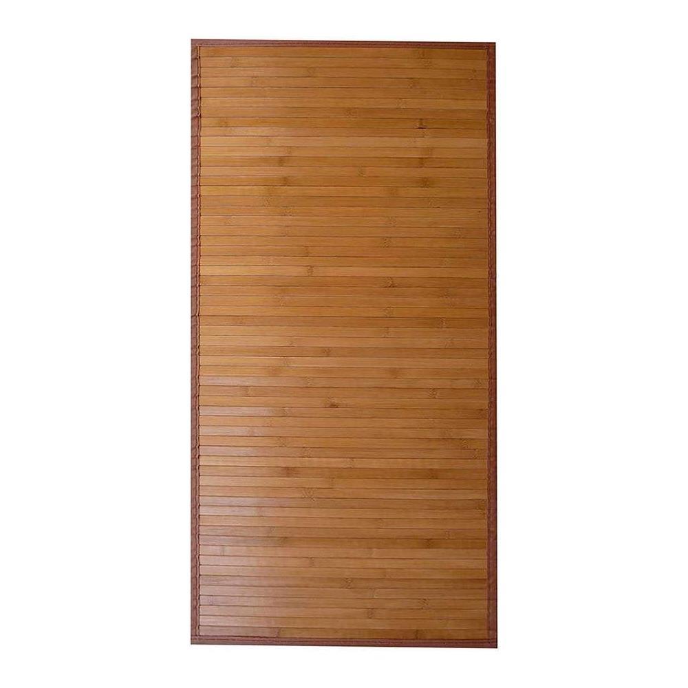 Tappeti Bagno Su Misura Torino centrotex tappeto di bambù colore legno, 50x150 cm