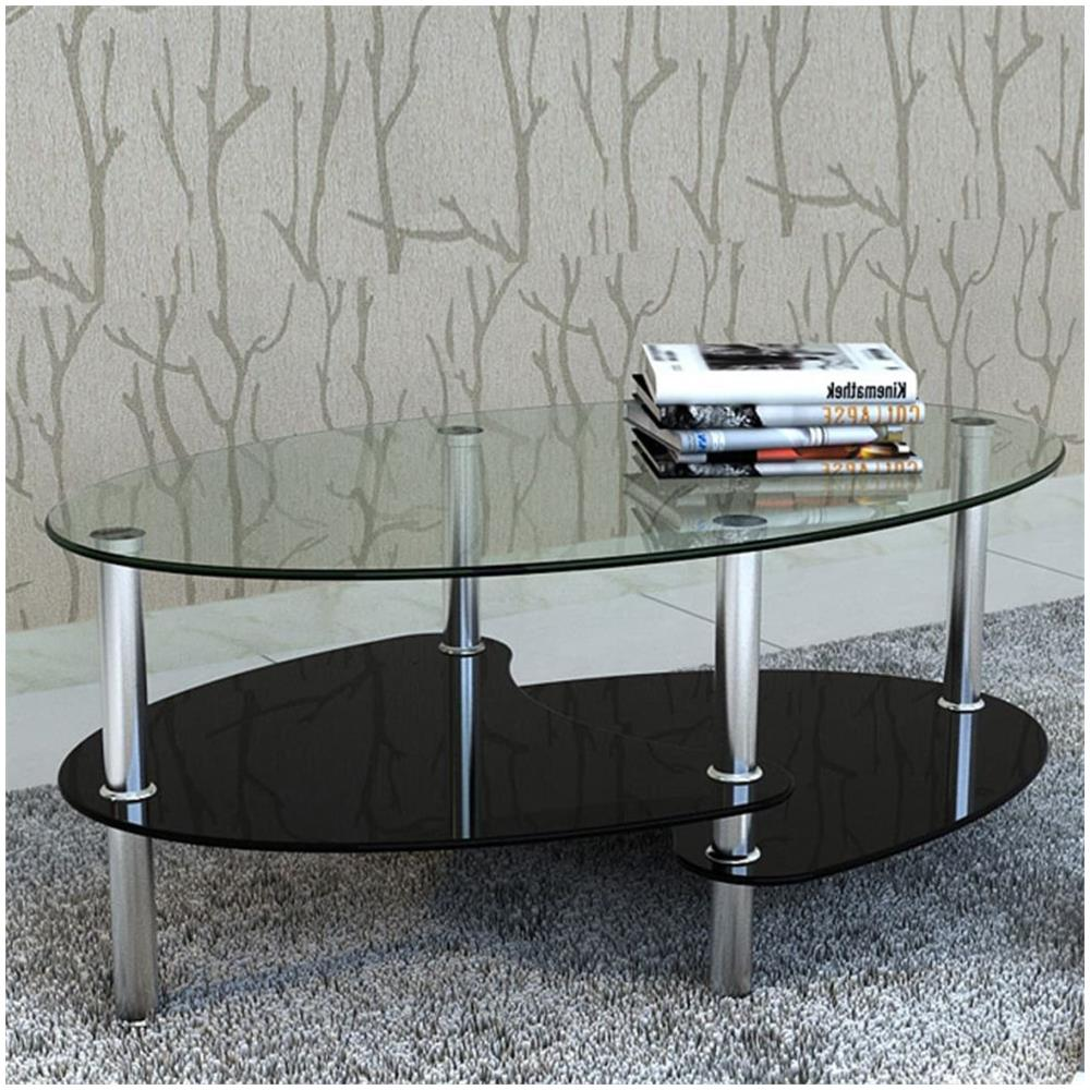 vidaXL - Tavolino da Soggiorno in Vetro - ePRICE