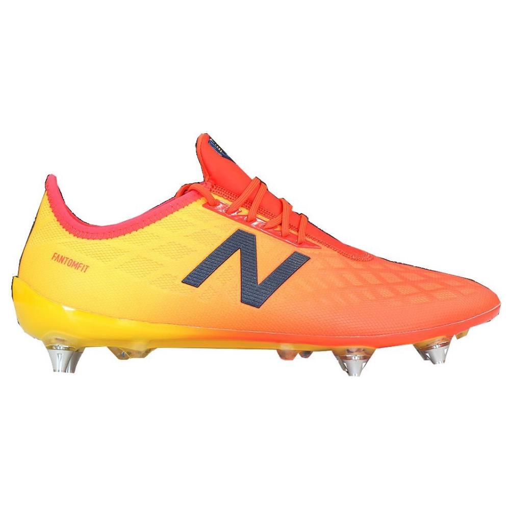 NEW BALANCE Scarpe Calcio New Balance Furon 4.0 Pro Sg Taglia 8,5 Colore: Rosso giallo