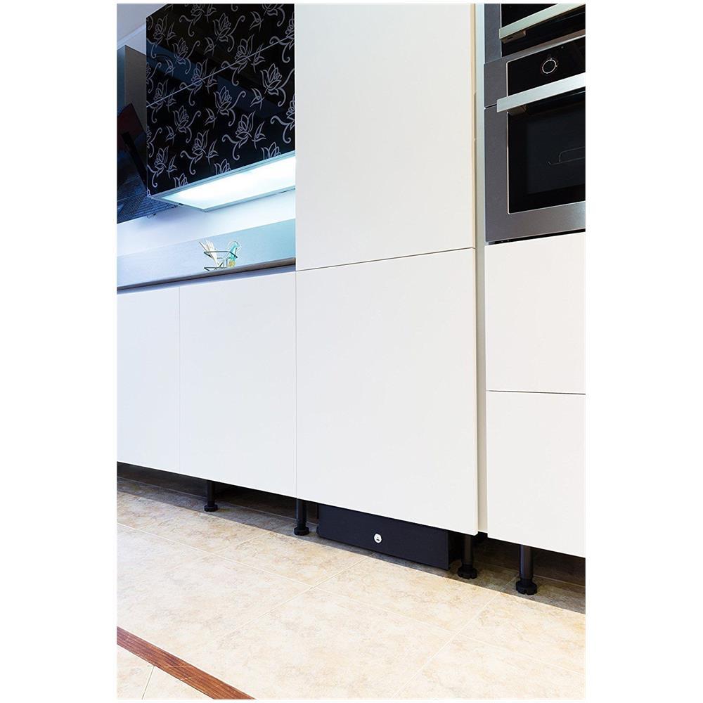 Arregui Cassaforte Mimetizzata Per Cucina Battiscopa Nero Box In Eprice