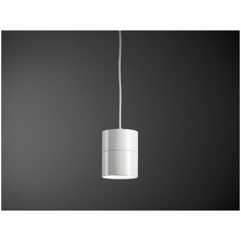 Abat Jour Cilindro vivida suspence sospensione cilindro led bianca Ø158mm 18w