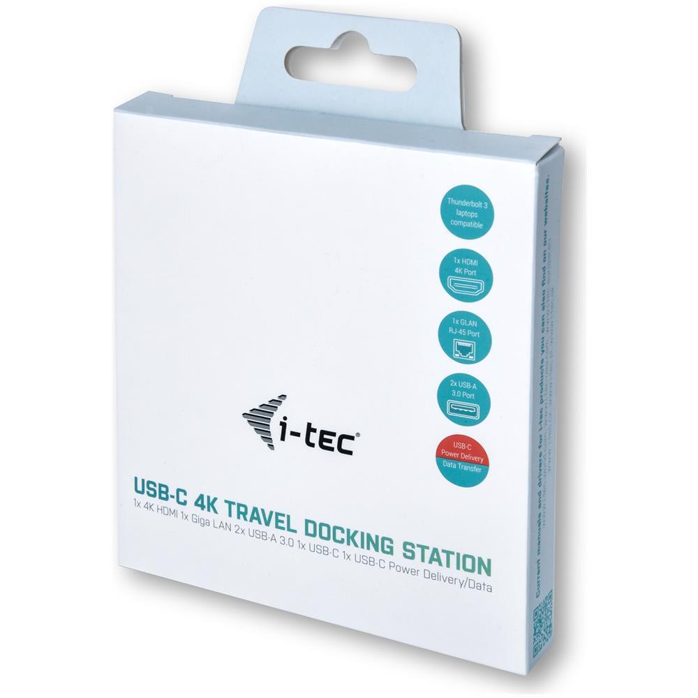 ITEC - Docking Station C31MINIDOCK4KPD 2x Usb 3.0 2 - ePRICE