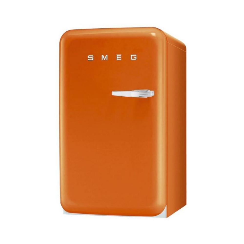 Frigo Smeg Anni 50 Piccolo smeg frigorifero da tavolo fab10lo anni '50 classe a + capacità lorda /  netta 120/101 lt colore arancione