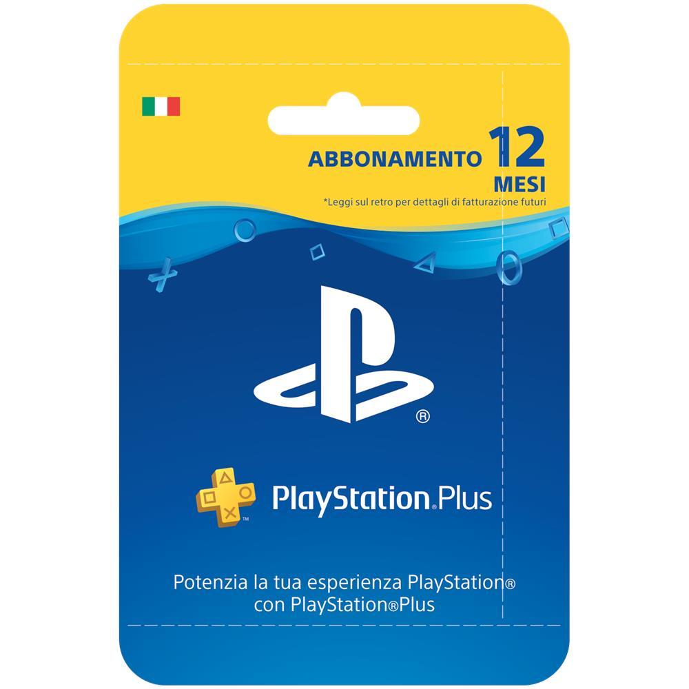 83cb2f9df6ffa8 SONY - PlayStation Plus Card Hang Abbonamento 12 Mesi - ePRICE