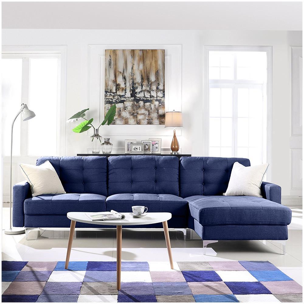 B.H.D - Anais - divano ad angolo moderno - design imbottito ...