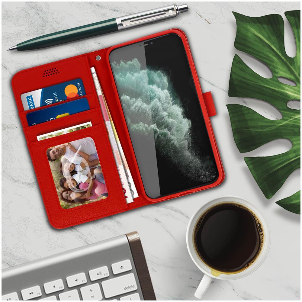 Avizar - Custodia Apple Iphone 11 Pro Portafoglio Supporto Video