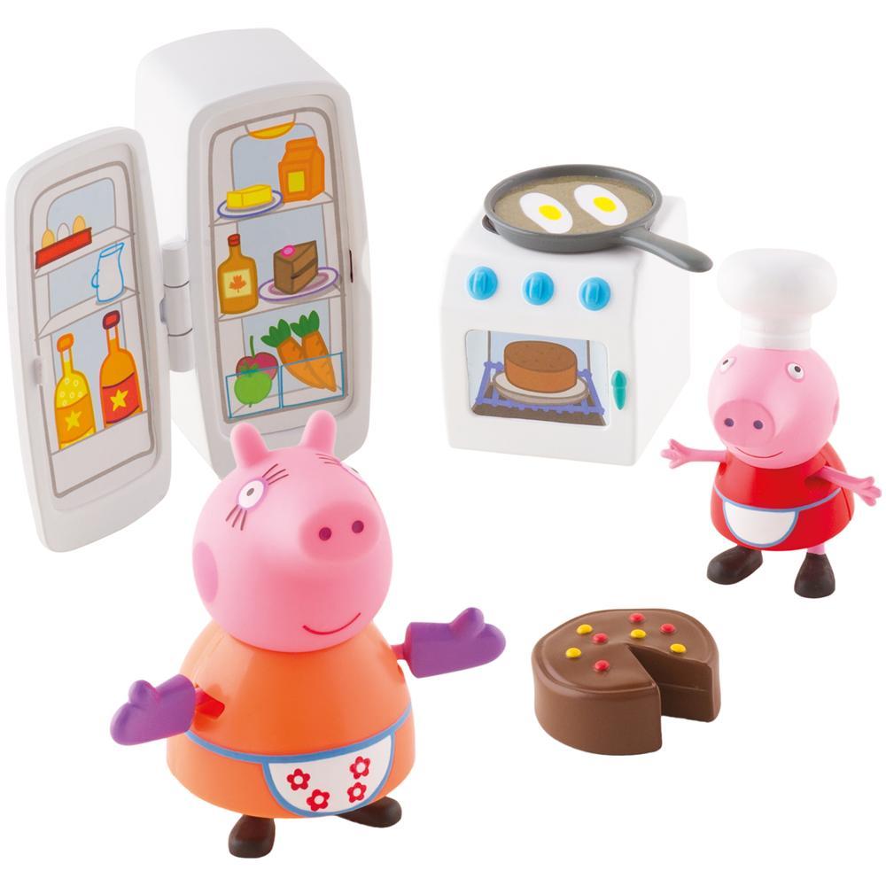 Peppa pig kitchen ragazzo ragazza multicolore cartoni animati