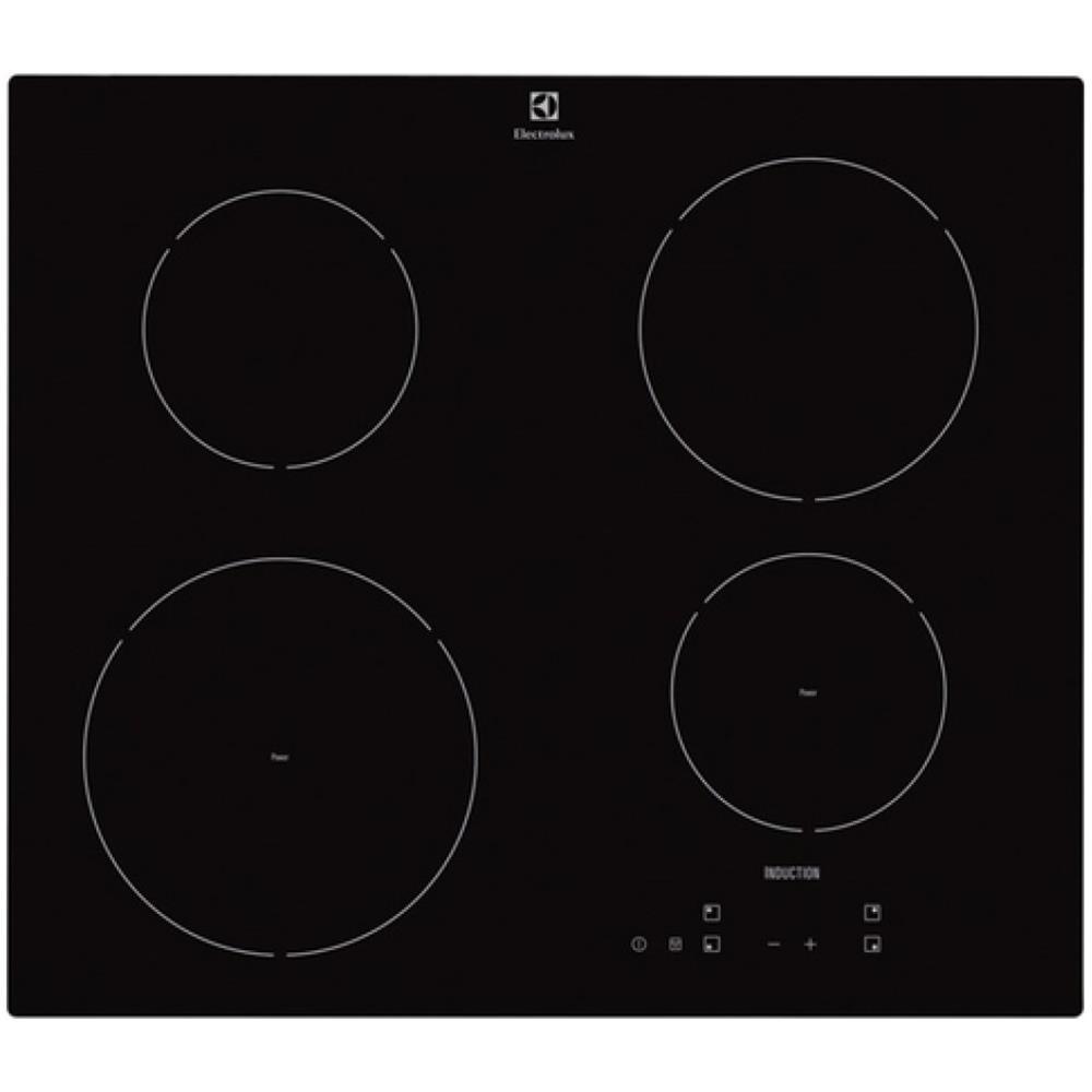 ELECTROLUX Piano Cottura EHH6240IOK a Induzione 4 Zone Cottura da 60 cm  Colore Nero