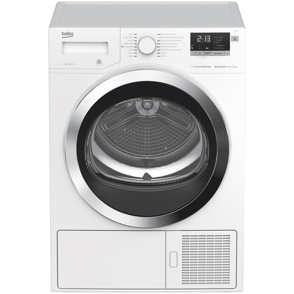 Cosa Non Mettere Nell Asciugatrice beko asciugatrice dry733ci optisense, 7 kg classe a+++ pompa di calore