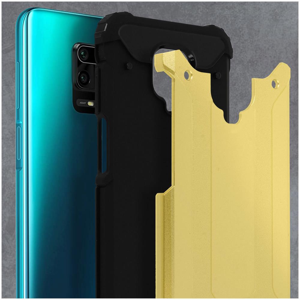 Cover Xiaomi Redmi Note 9S /9 Pro /9 Pro Max Protezione Bi-materia Antiurto Blu