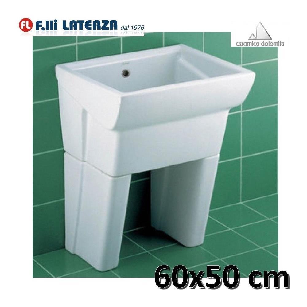 Offerte Lavatoio Per Lavanderia.Dolomite Lavatoio Per Lavanderia In Ceramica 60x50 Serie Messico