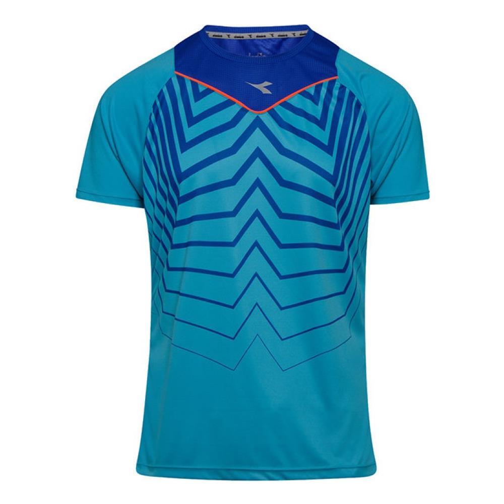 DIADORA T shirt Uomo Sun Look Taglia: S Colore: Azzurro