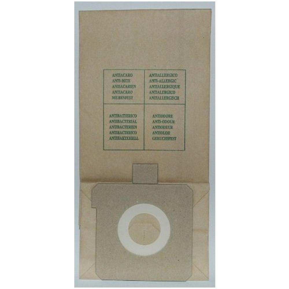 EX 12 sacchetti per scopa elettrica confezione da 10 sacchi carta