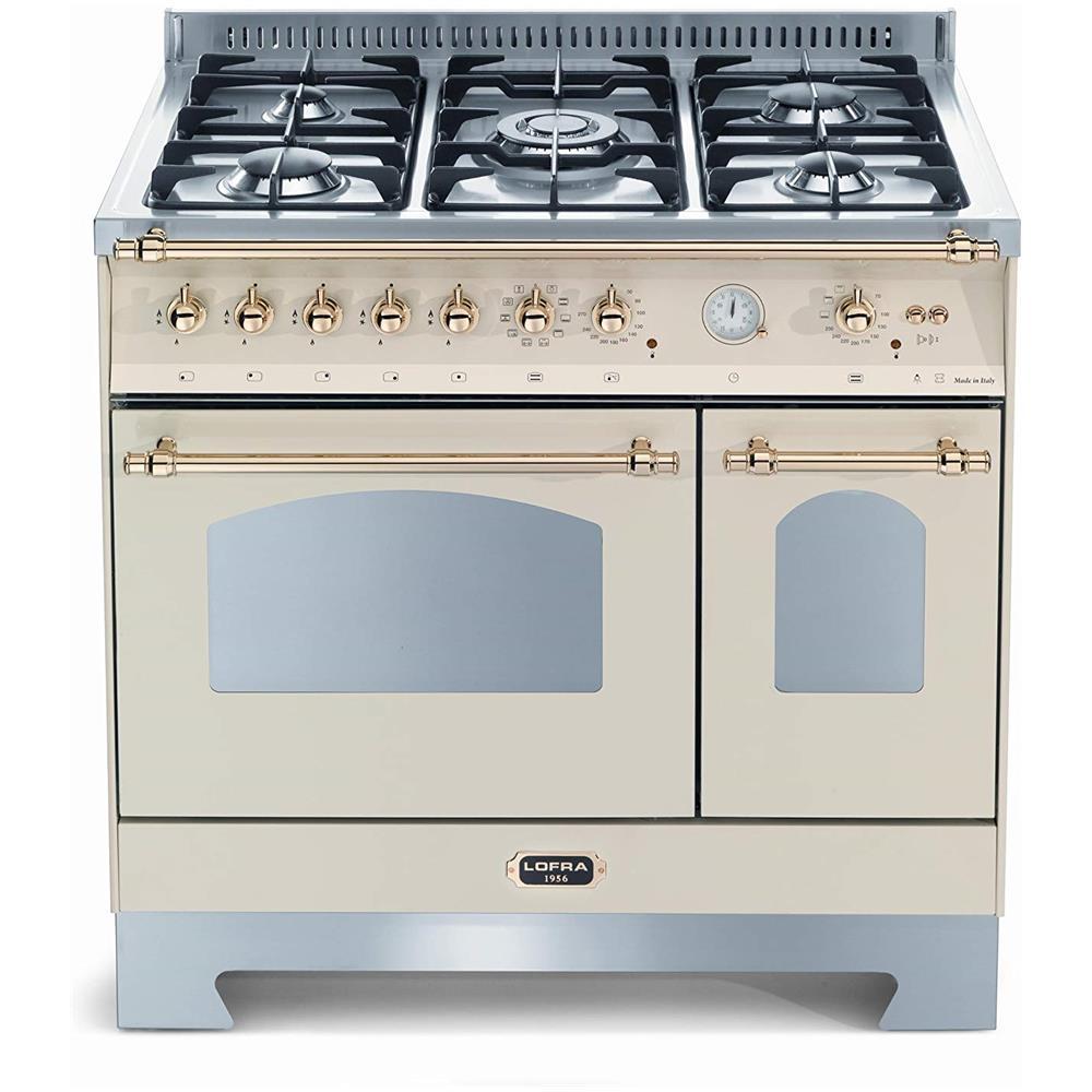 LOFRA - Cucina Dolcevita 90x60 Avorio Con Piano In Acciaio Satinato ...