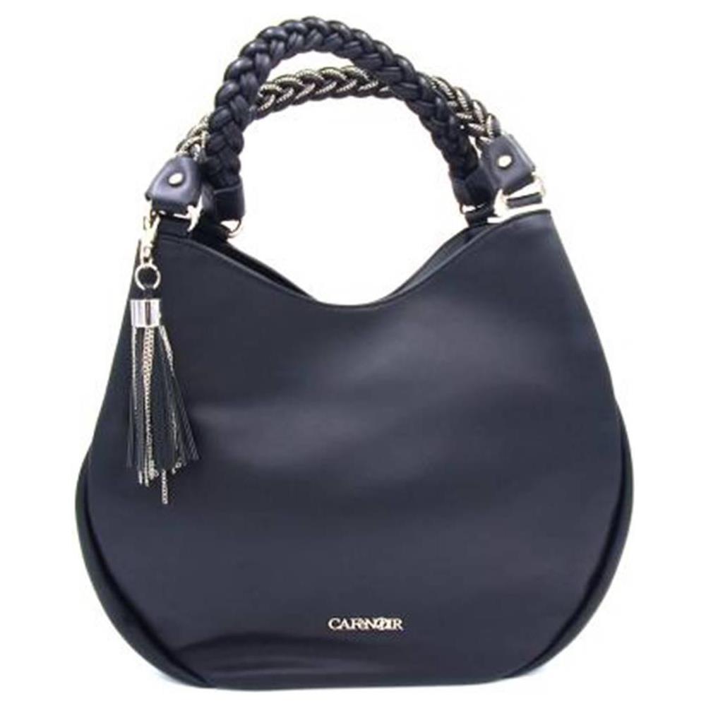 95d6f43d3b CAFéNOIR - Cafènoir Bhi451 Nero Borsa Shopping Bag Sacca Spalla Donna -  ePRICE