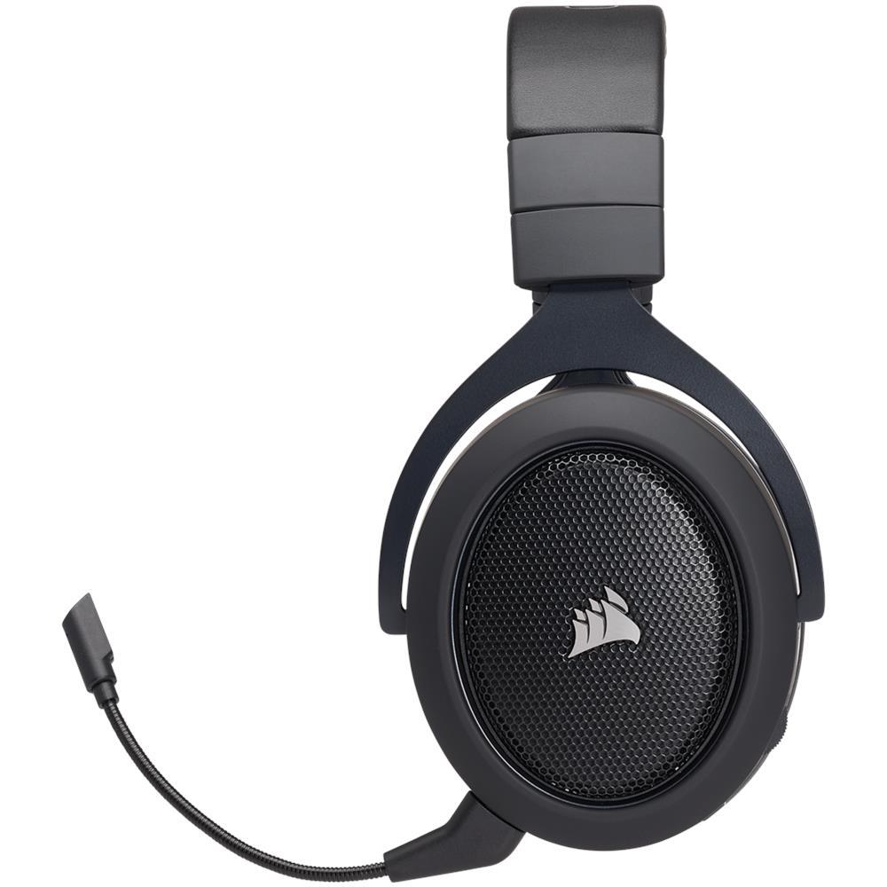 Tutte le immagini. CORSAIR Cuffia Gaming HS70 con Microfono Wireless  Carbonio b3b4cf9689cd