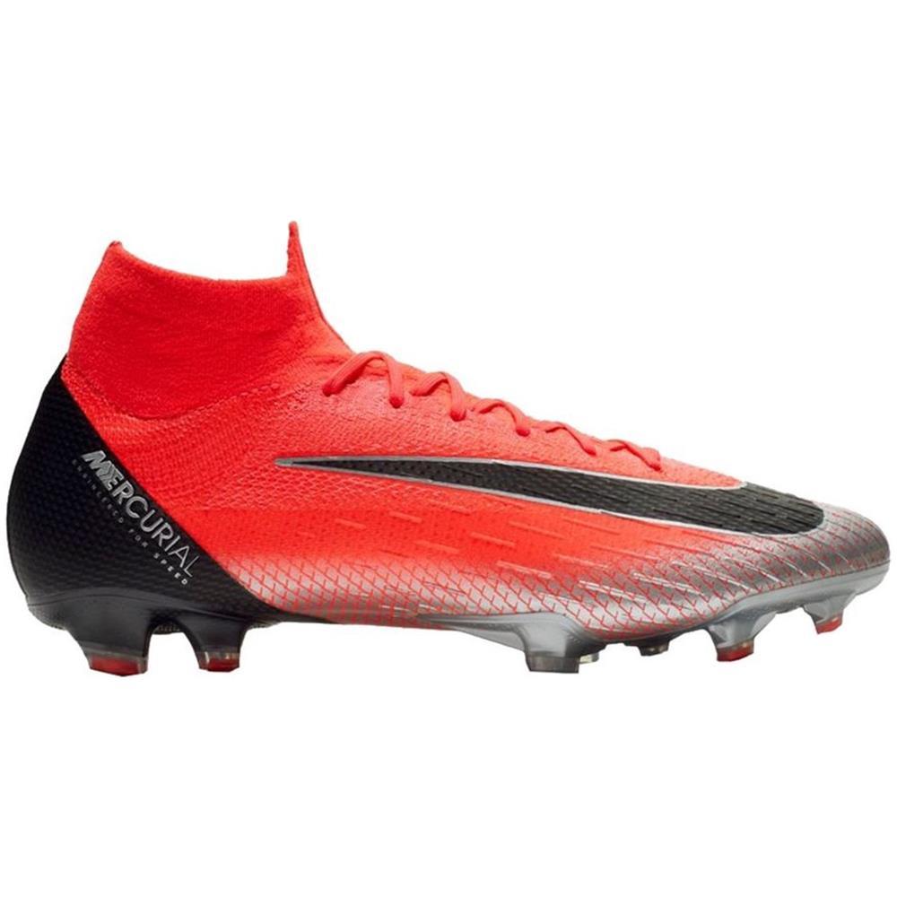 2019 reale pacchetto elegante e robusto calzature NIKE Scarpe Calcio Nike Mercurial Superfly Vi Elite Cr7 Fg Built On Dreams  Pack Taglia 40 - Colore: Rosso / argento