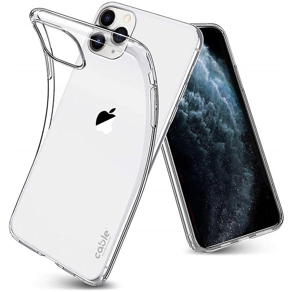 CABLE TECHNOLOGIES Isee Clear For Iphone 11 Pro, Cover Case Custodia Trasparente Chiara Morbido Silicone Protezione E Trasparenza Materiale ...