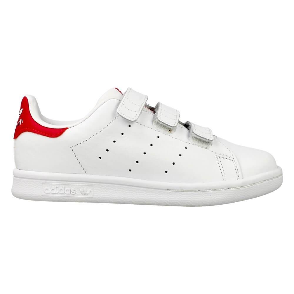 adidas stan smith bianco e rosso