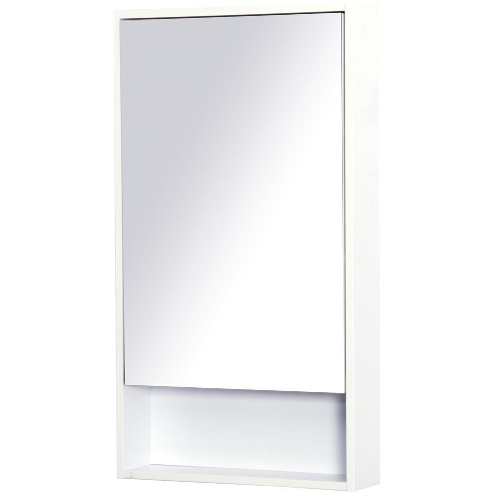 Kleankin - Armadietto Specchio Pensile Bagno Dimensioni 50x90x12cm ...