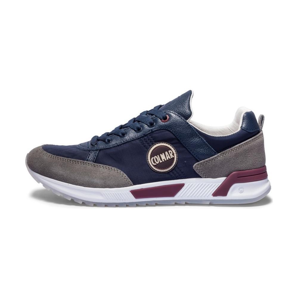 COLMAR ORIGINALS Scarpe Uomo Sneakers Travis Original Taglia 40 - Colore   Blu   grigio. Zoom 7d39076163c