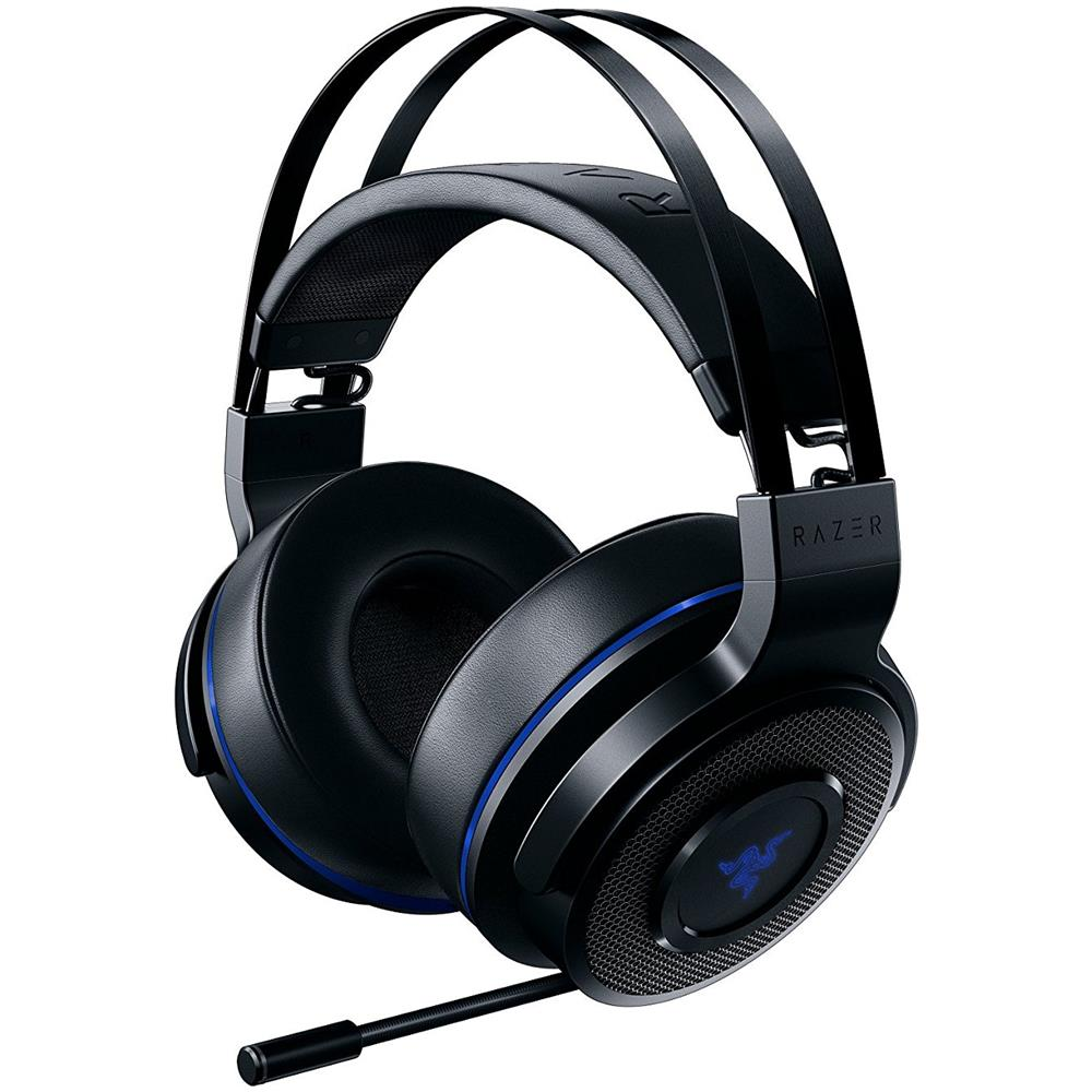 Cuffie Gaming Thresher 7.1 con Microfono Colore Nero / Blu