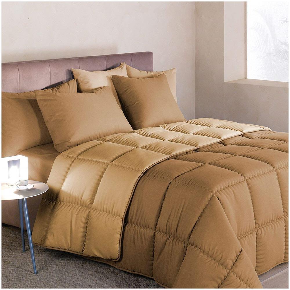 Composizione Del Colore Tortora caleffi trapunta modern letto singolo 1 piazza tinta unita double face  colore tortora