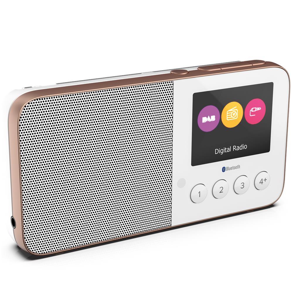 Pure Radio DAB+ ed FM tascabile con Bluetooth Move T4 Colore Bianco. Zoom efd02c3c5a0d